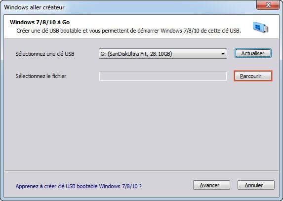 disque dur externe bootable