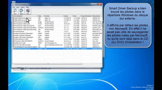 driver disque dur externe
