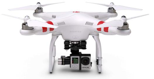drone avec emplacement gopro