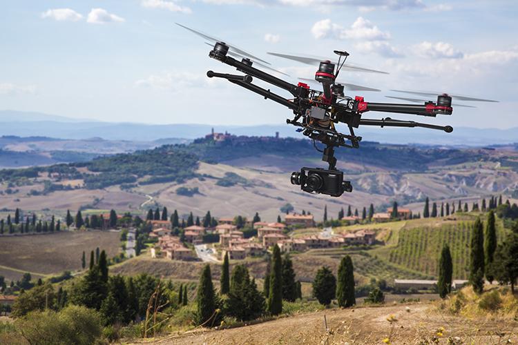 drone vidéo