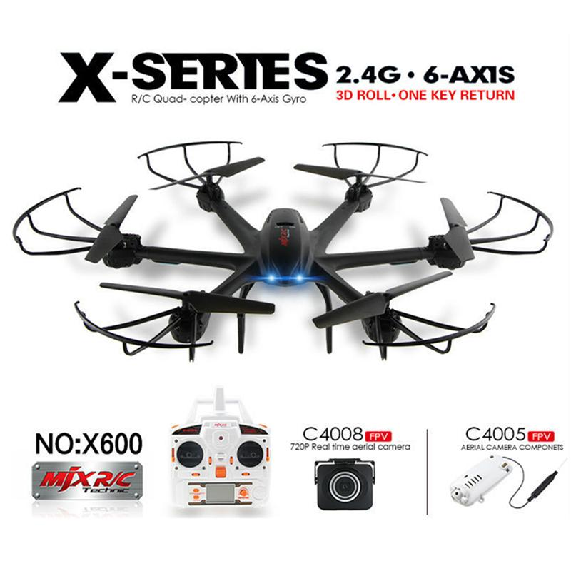 drone with camera 6 axis