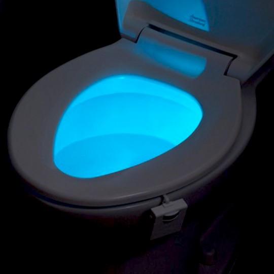 eclairage cuvette wc