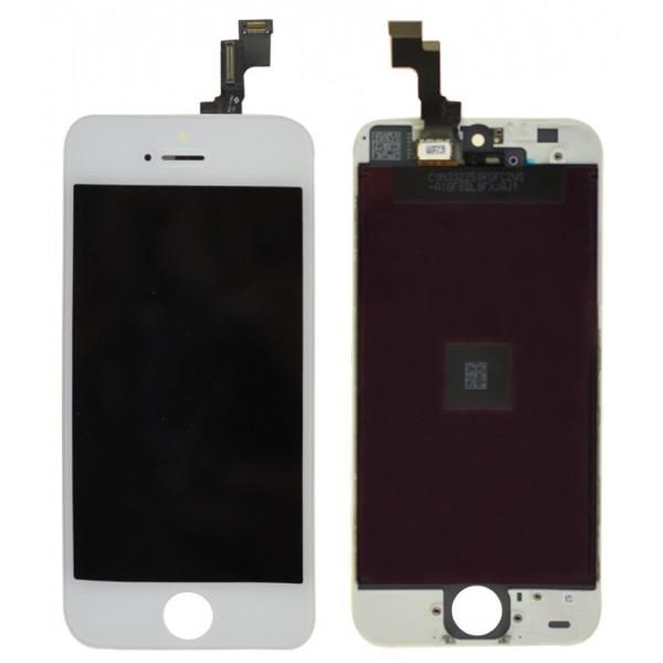 ecran iphone 5s blanc
