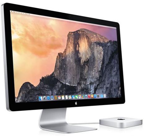 ecran mac mini