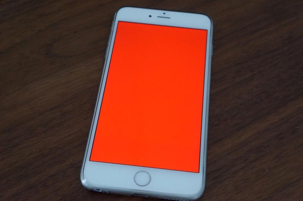 ecran rouge iphone 6