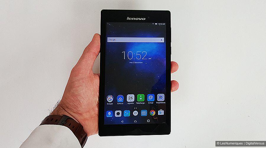 ecran tablette lenovo 7 pouces