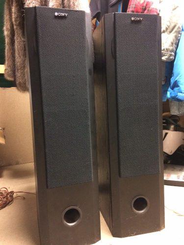 enceinte colonne sony
