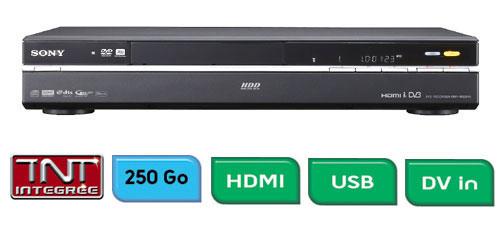 enregistreur graveur dvd disque dur