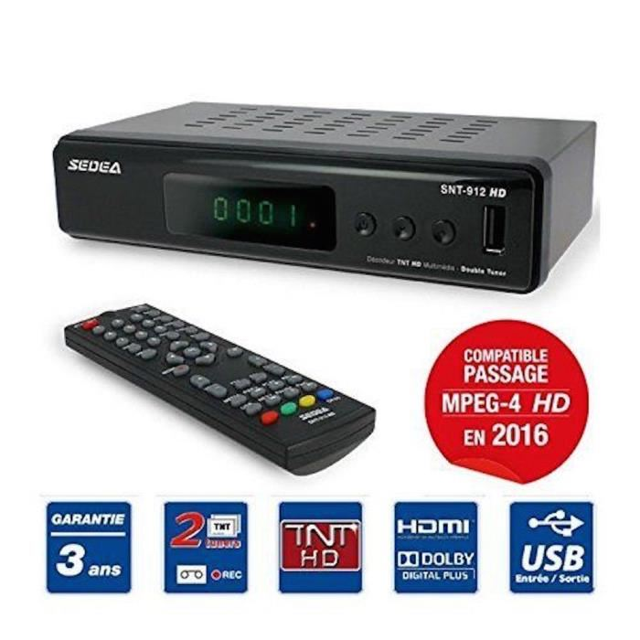 enregistreur tv double tuner
