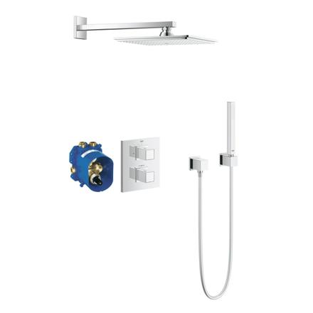 ensemble douche encastrable grohe