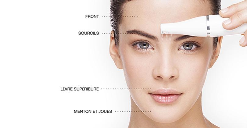 epilateur pour visage femme