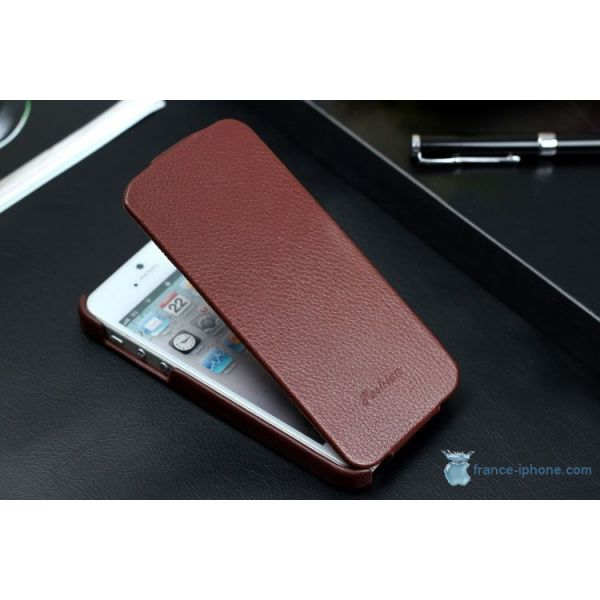 etui cuir iphone 5