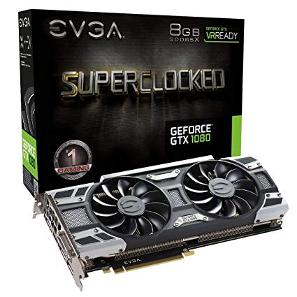 evga geforce gtx 1080 superclocked gaming