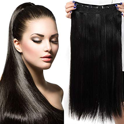 extension cheveux noir