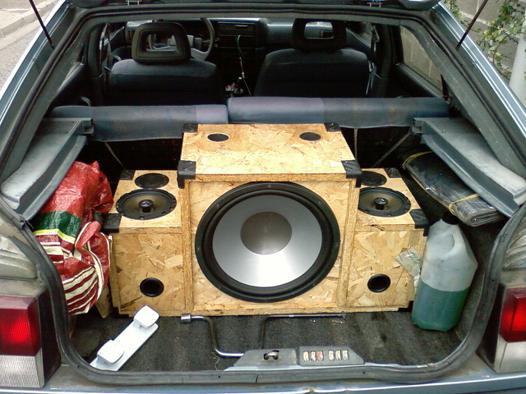 fabriquer un caisson de basse pour voiture