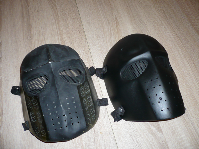 fabriquer un masque airsoft