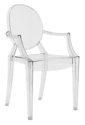 fauteuil polycarbonate transparente