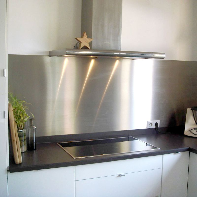 feuille inox pour cuisine