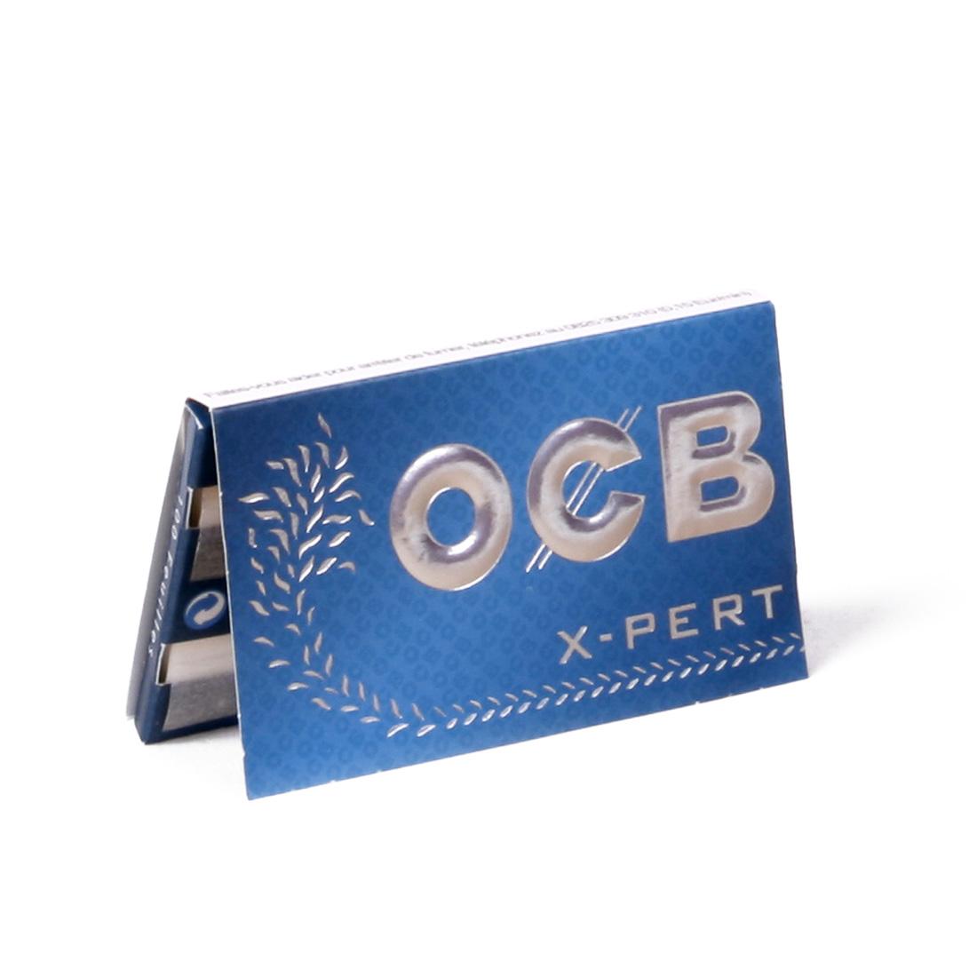 feuille ocb bleu