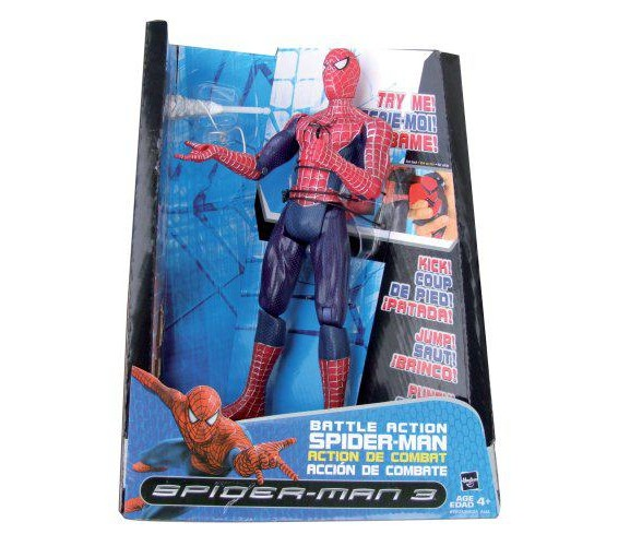 figurine spiderman 3
