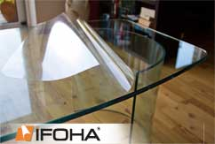 film protecteur table en verre