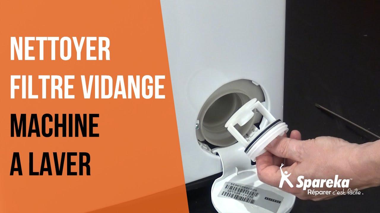 filtre de vidange machine à laver
