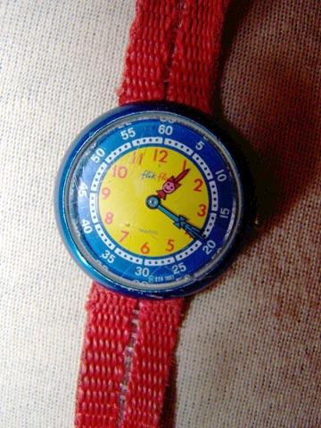 flip flap montre
