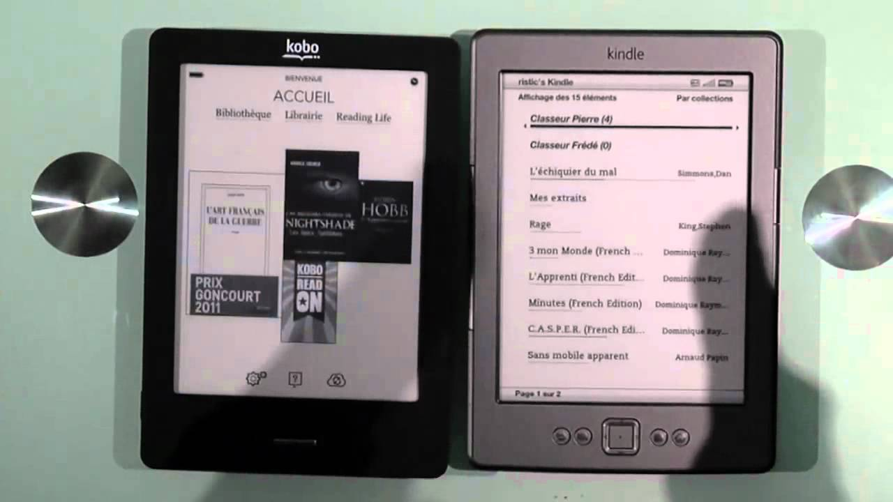 fnac kindle