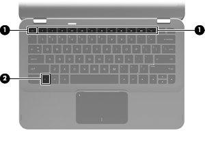 fonction touches clavier ordinateur portable hp