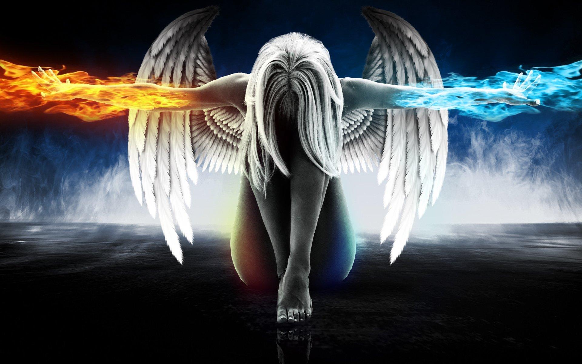 fond d écran d ange
