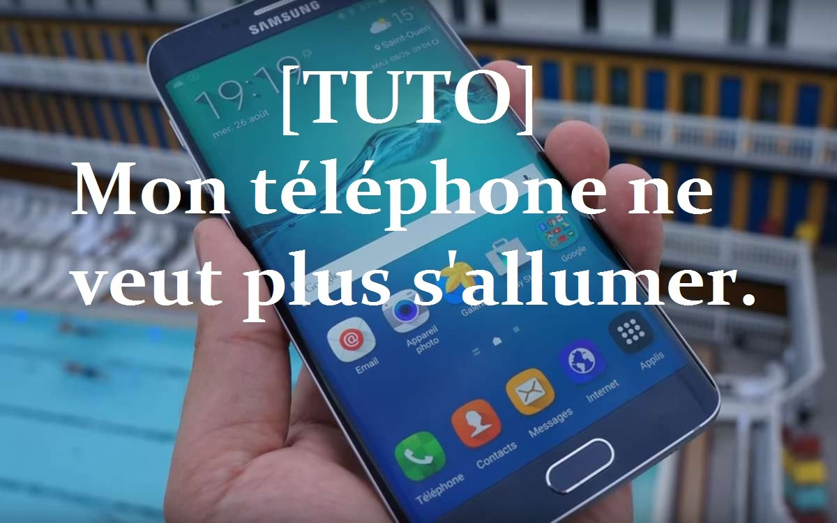 galaxy note 4 ne s allume plus