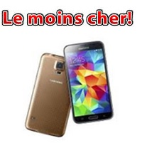 galaxy s5 le moins cher