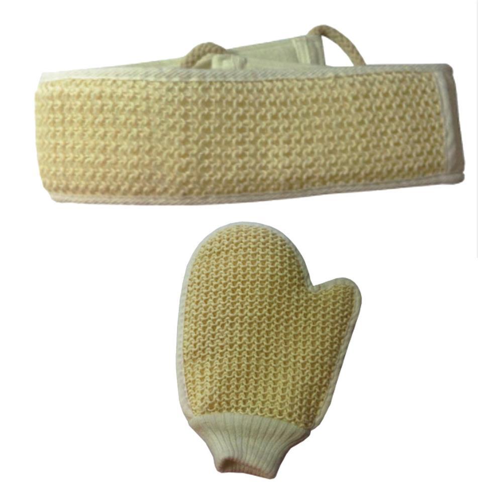 gant de crin ou