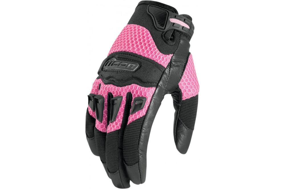 gant moto femme ete
