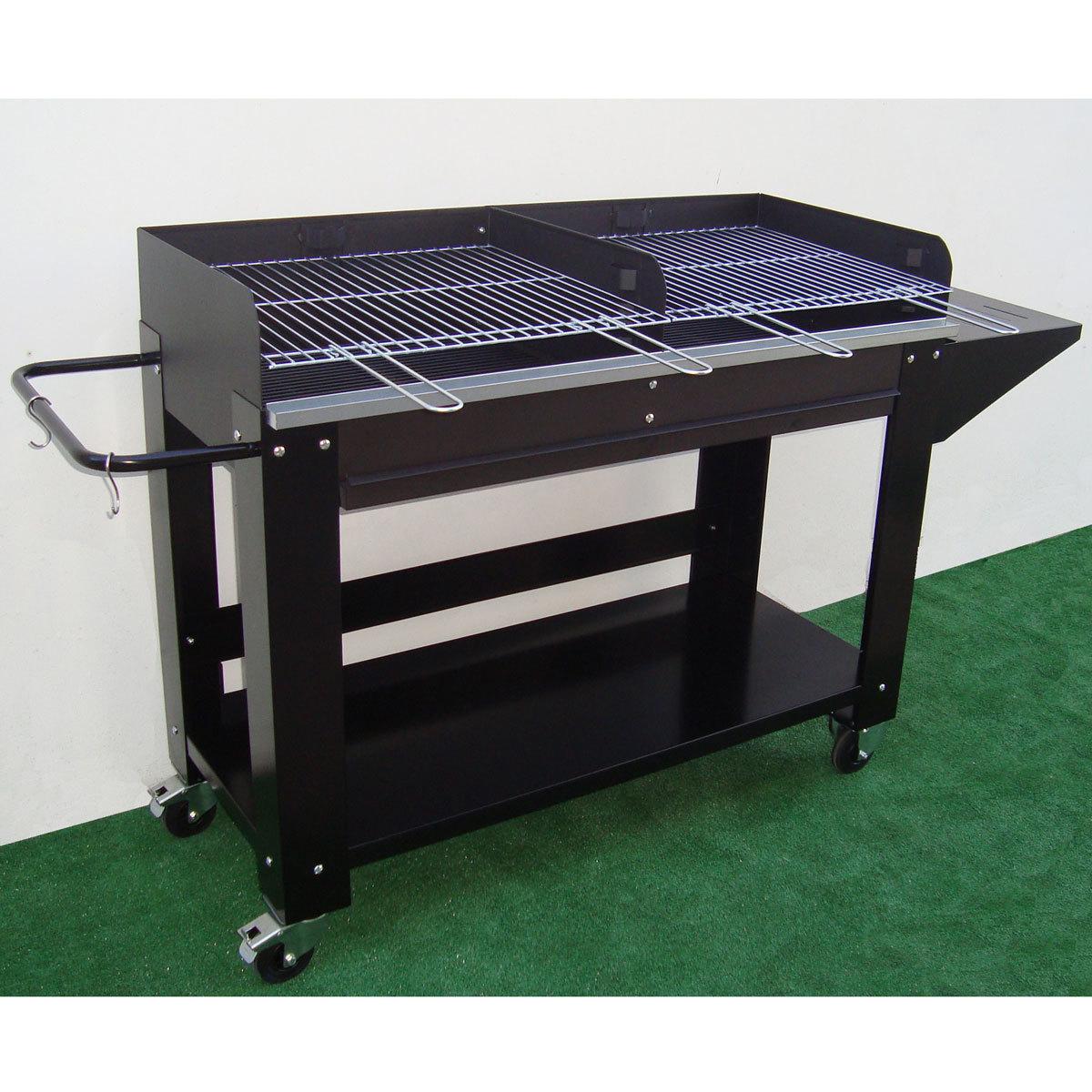 grand barbecue charbon professionnel