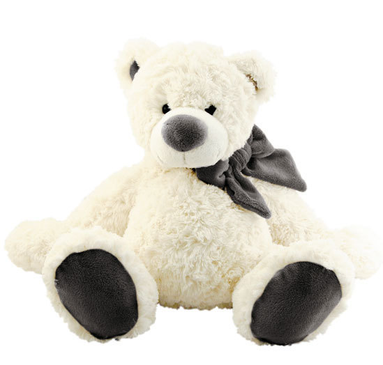 grosse peluche ours blanc