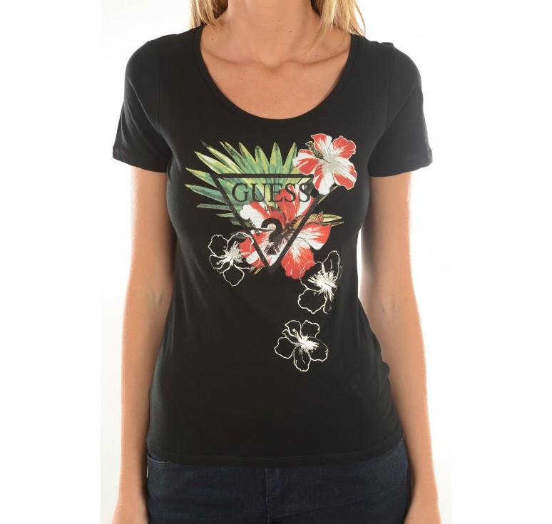 guess tee shirt femme