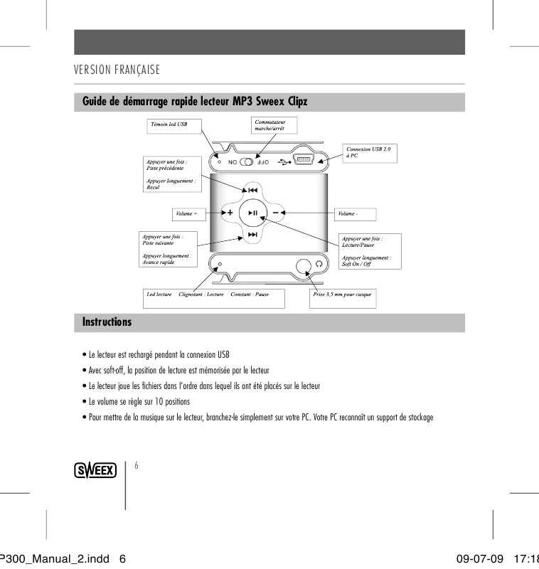 guide lecteur mp3