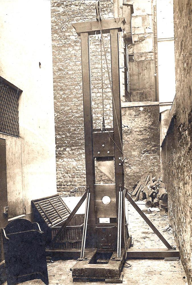 guillotine berger