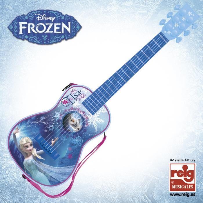 guitare electrique reine des neiges