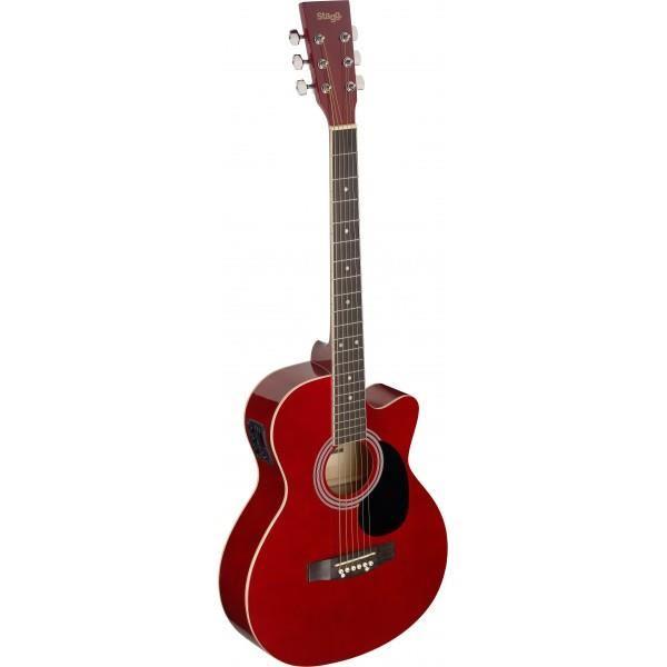 guitare folk electro acoustique pas cher