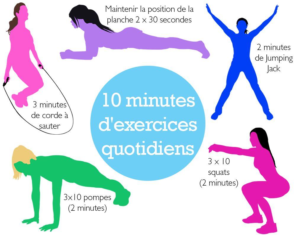 gym a la maison exercice