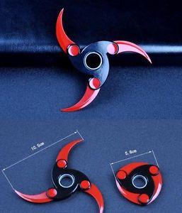 hand spinner shuriken rouge