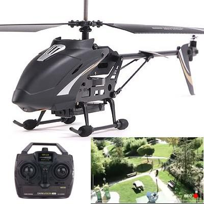 helicoptere avec camera