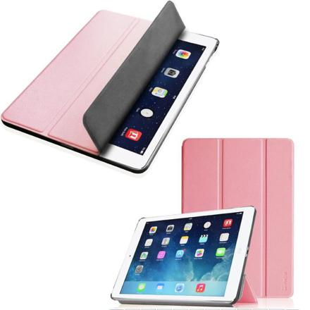 housse ipad air rose