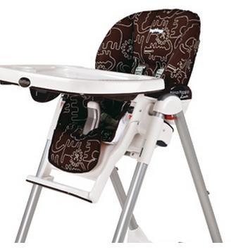 housse rechange chaise haute peg perego