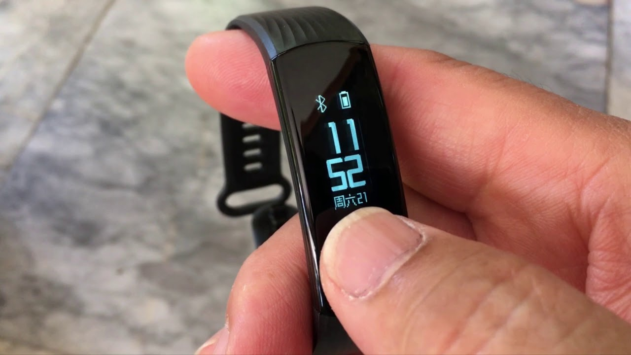 huawei band 3 test