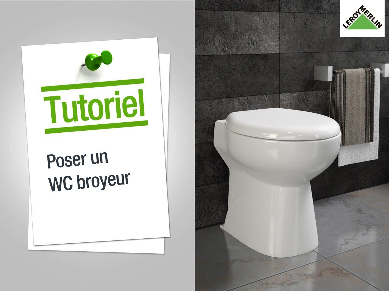 installation wc broyeur