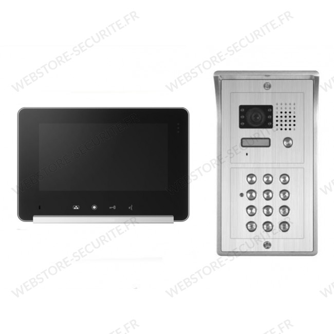 interphone video digicode