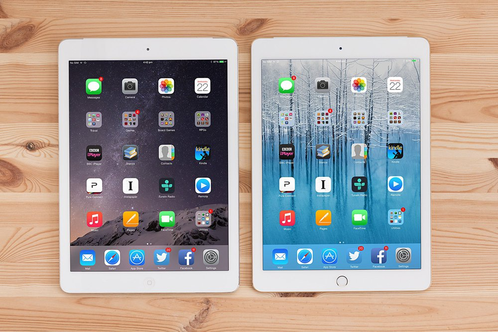 ipad air et ipad air 2